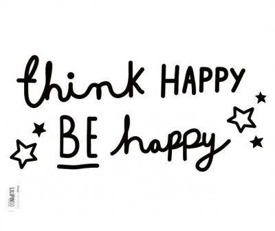 Lilipinso Samolepka na zeď Be Happy
