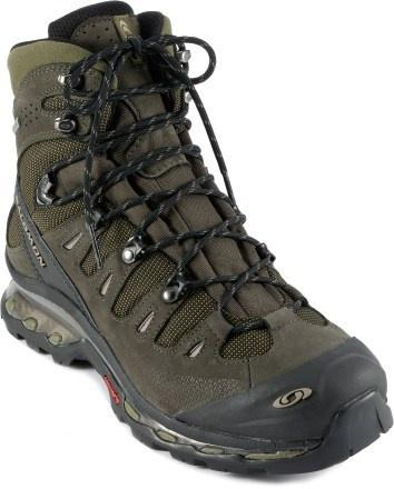 My boots except mine are orange.    Salomon Quest 4D GTX Hiking Boots - Men\'s