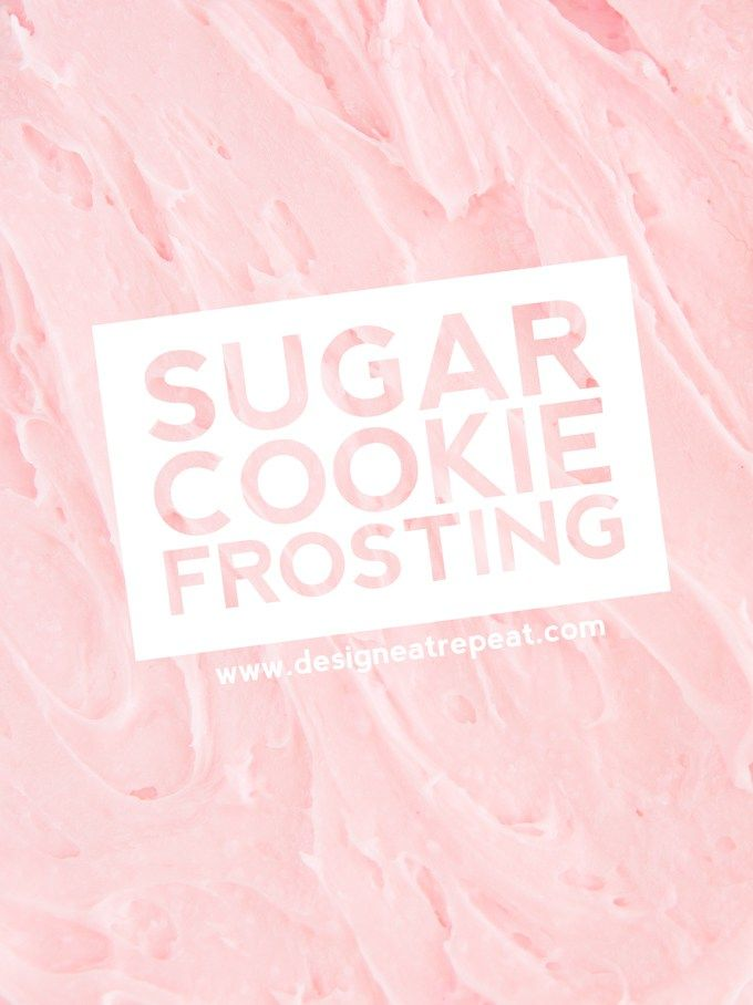 Cream cheese and real butter make a quick and easy sugar cookie frosting for your favorite cookies!