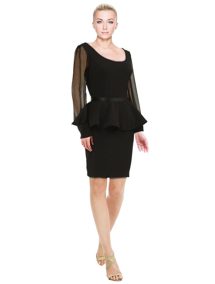 Dress Black Fashion Formal