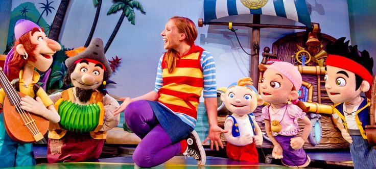 Walt Disney World~Disney's Hollywood Studios~Disney Junior Live On Stage