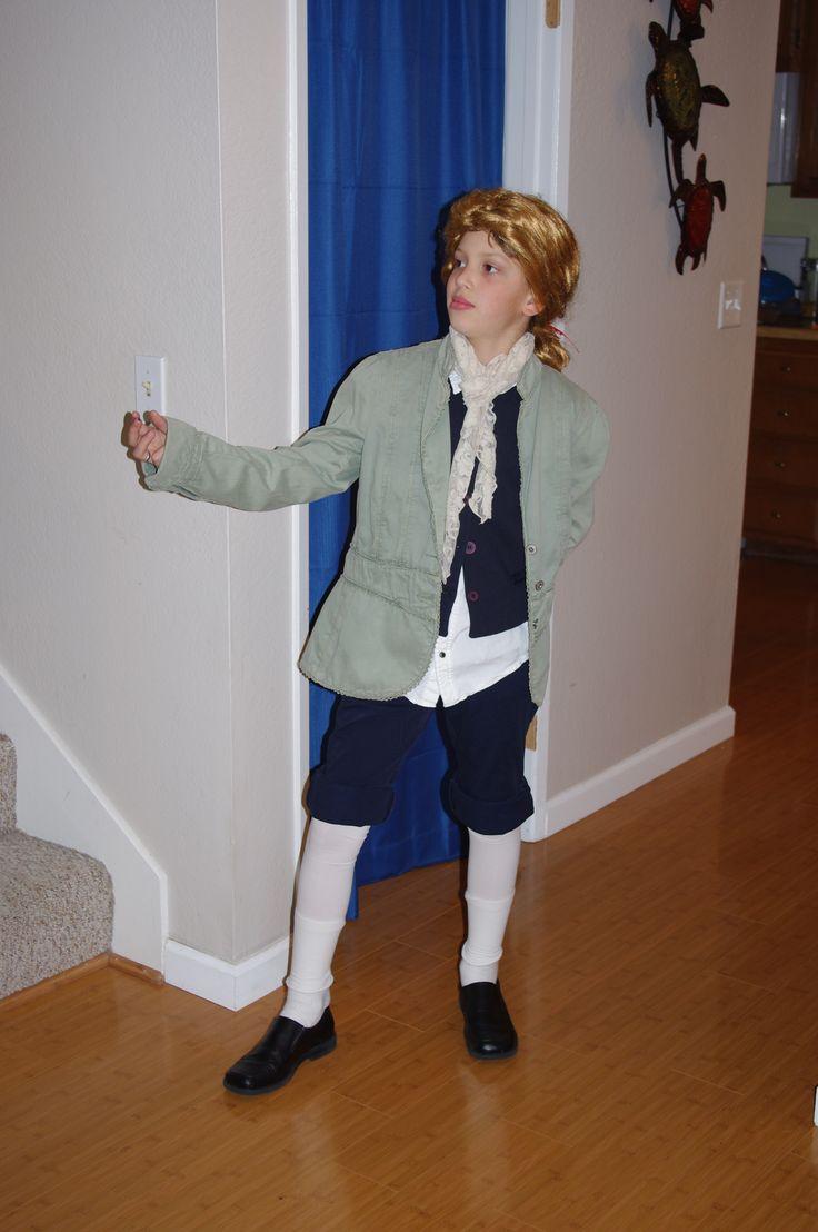 "Thomas Jefferson costume for ""Walk through the Revolution ..."