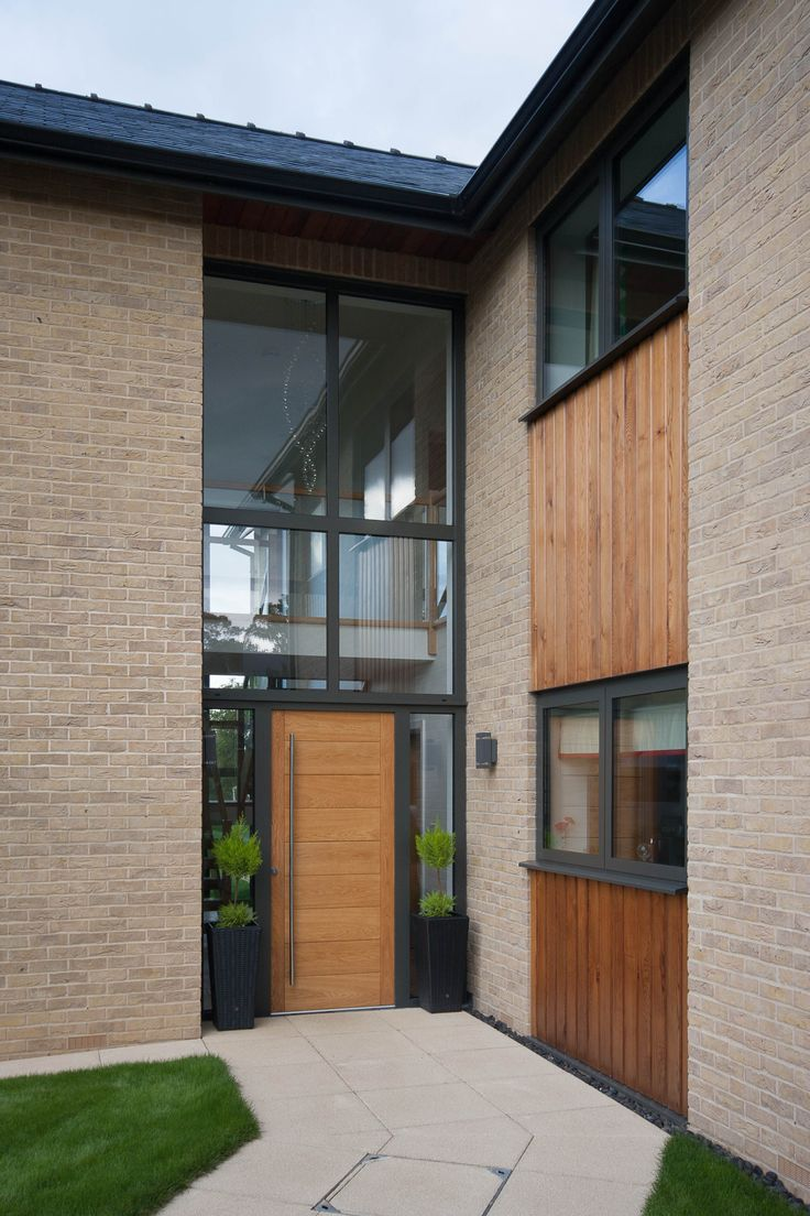Entrance - The Fuller House - LABC East Anglia Building Excellence Awards 2014 - Best Individual New House; Finialist