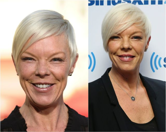 Best Hairstyles for Long Face Shapes: 30 Flattering Cuts: Tabatha Coffey's Edgy Short Hairstyle