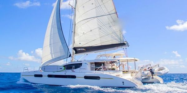 Still plenty of chances to escape the cold with this beautiful catamaran! Yacht Island R&R accommodates 6 guests in 3 beautiful queen cabins! Their weekly inclusive charter fee is $12,500- $14,500. Inquire for captain only and half board rates 🙂