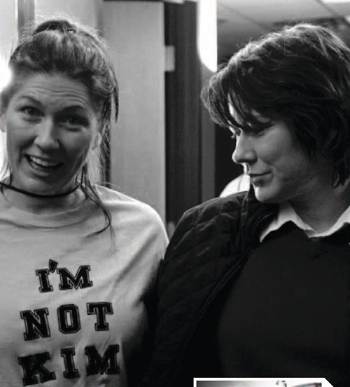 Kelley and Kim Deal