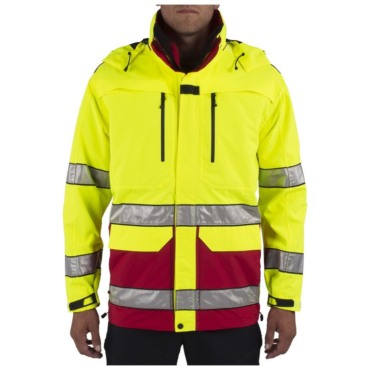 Ultimate hi-vis protection from the elements is paired with outstanding  functionality and a versatile