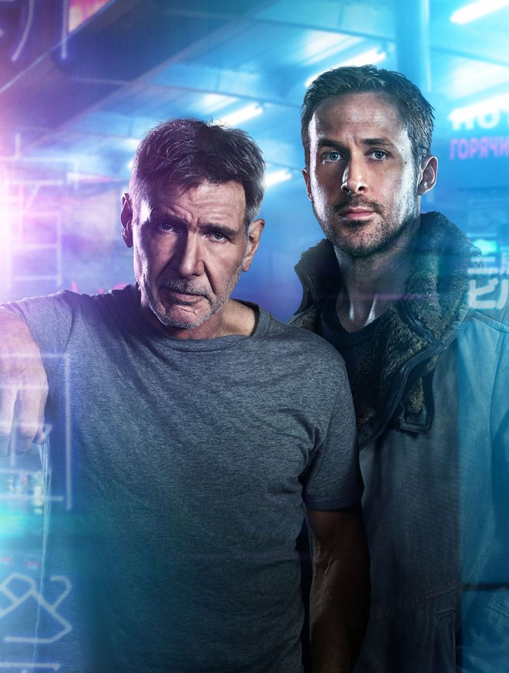 Harrison Ford (l.) and Ryan Gosling (r.) for BLADE RUNNER 2049 © SONY - kulturmaterial