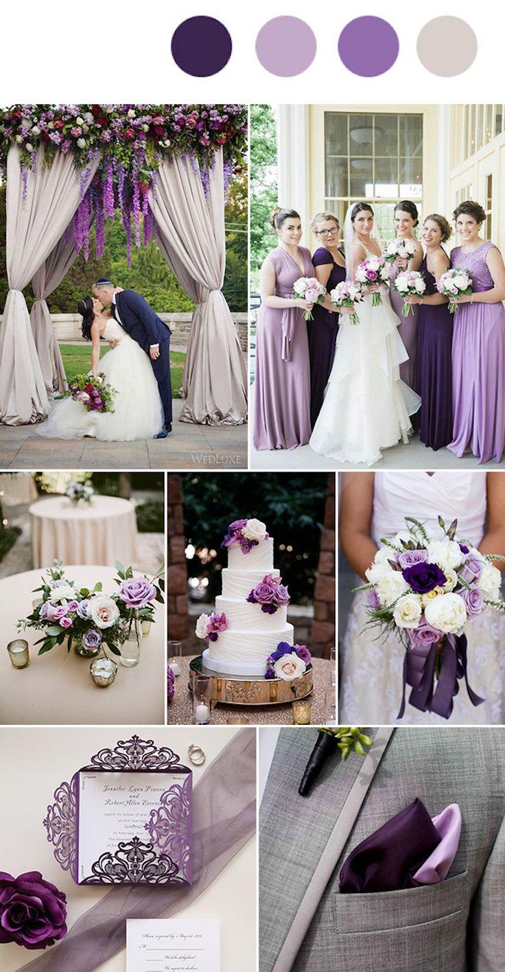 Hochzeit Farben 2019
