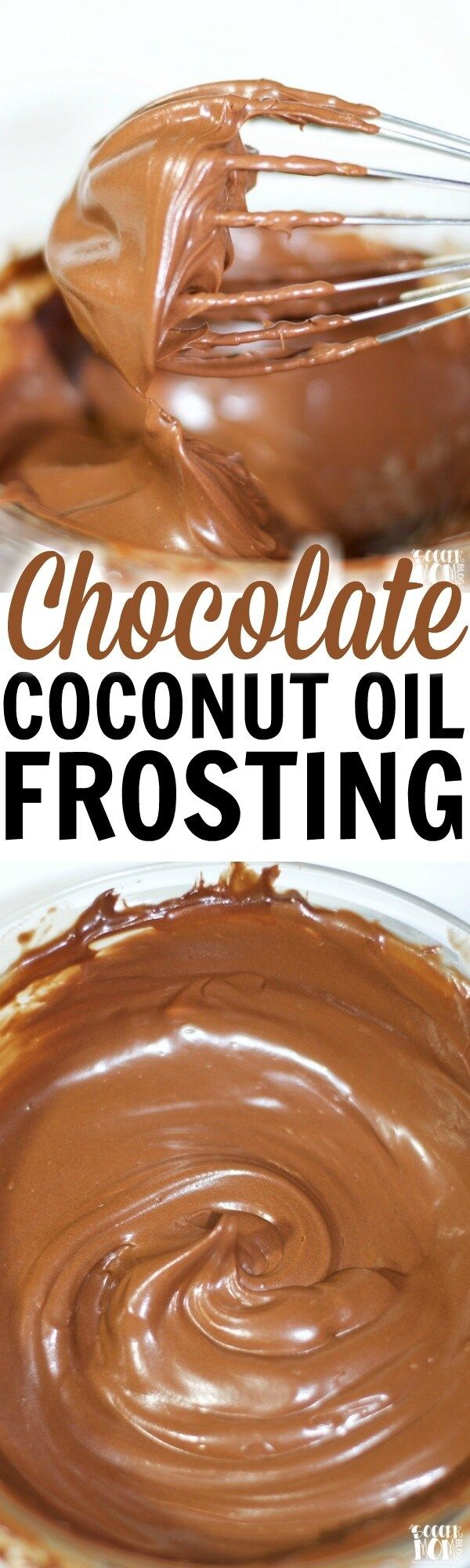 It really is like dessert magic!! You only need 2 ingredients to create this decadent Dark Chocolate Coconut Oil Icing AND it makes two types of icing!