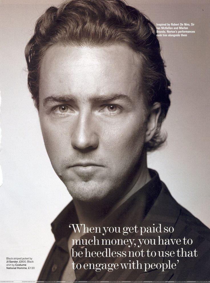 Edward Norton Quotes: Awesome And Edward