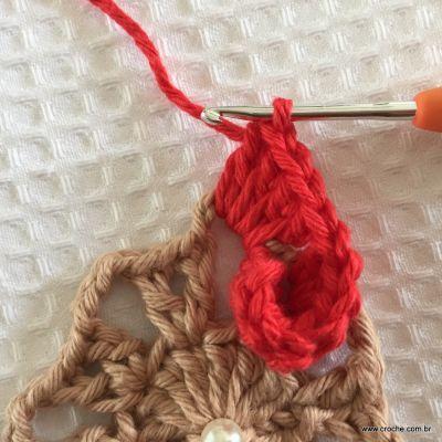 Flor coração passo a passo - croche.com (24)