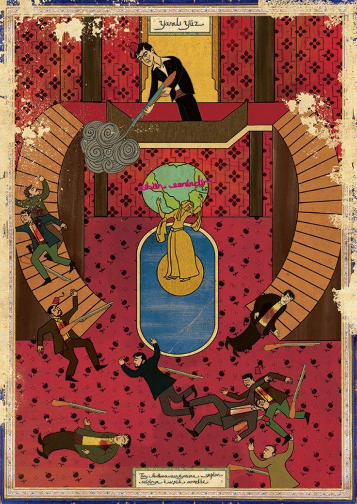 Oriente y Occidente - Scarface - El precio del poder - Murat Palta (2012).