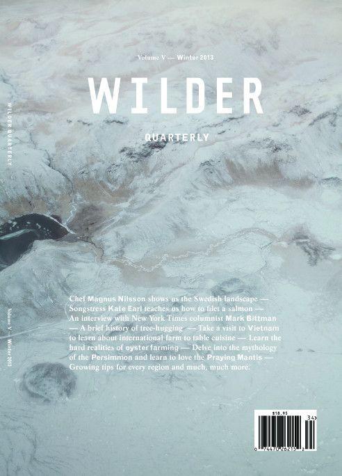 wilder quarterly