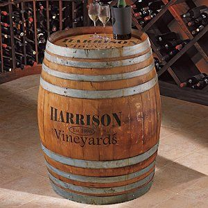 oak wine barrels. personalized finished full wine barrel oak barrels e