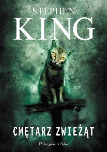 """Stephen King - """"Cmętarz zwieżąt"""" - 10/10 Link do opinii: http://lubimyczytac.pl/ksiazka/28843/cmetarz-zwiezat/opinia/24271224#opinia24271224"""