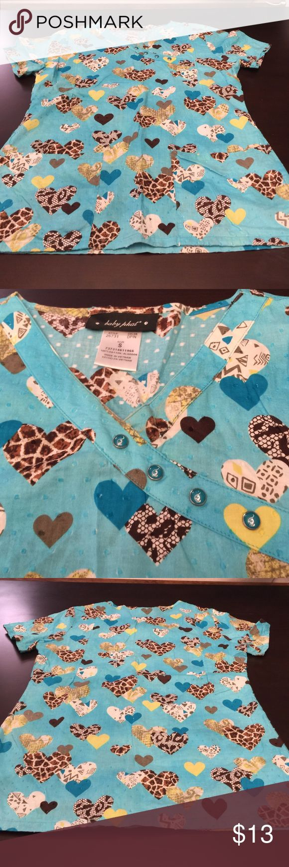 Baby Phat Scrub Top Excellent condition scrub top Baby Phat Tops