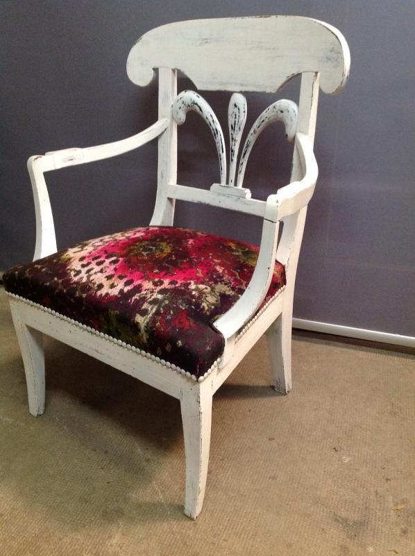à propos de Fauteuil Anglais sur Pinterest  Couvre chaise, Fauteuil ...