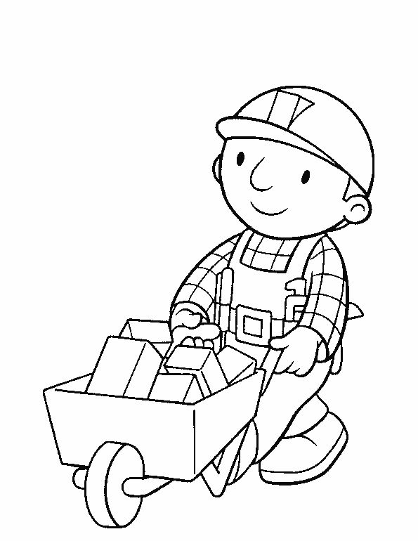 Bob The Builder DrawingThePrintable Coloring Pages Free Download