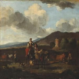 Dujardin, Karel - Italian Landscape