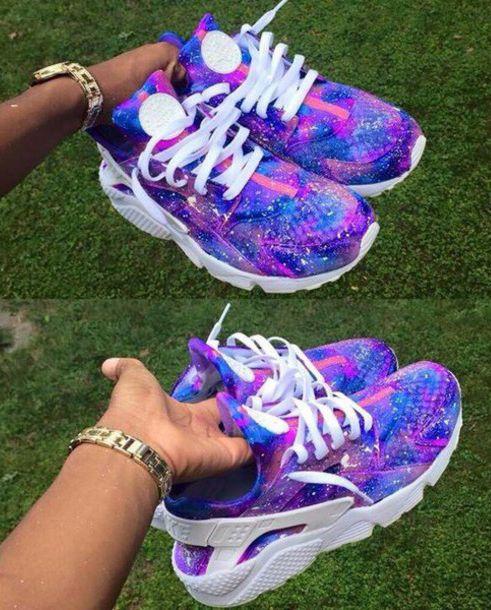 Femme Nike Air Huarache Violet Galaxie