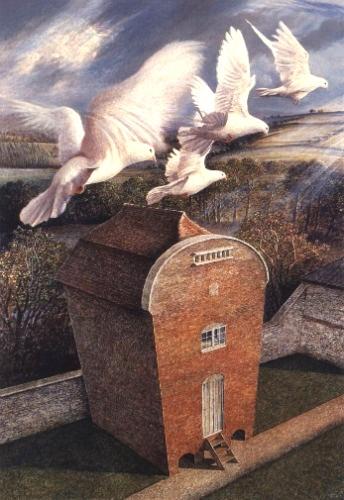 """Doves at Tytherington"", James Lynch. www.james-lynch.co.uk"