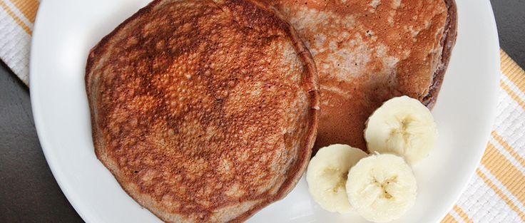 Chocolate-Banana Protein Pancake Recipe