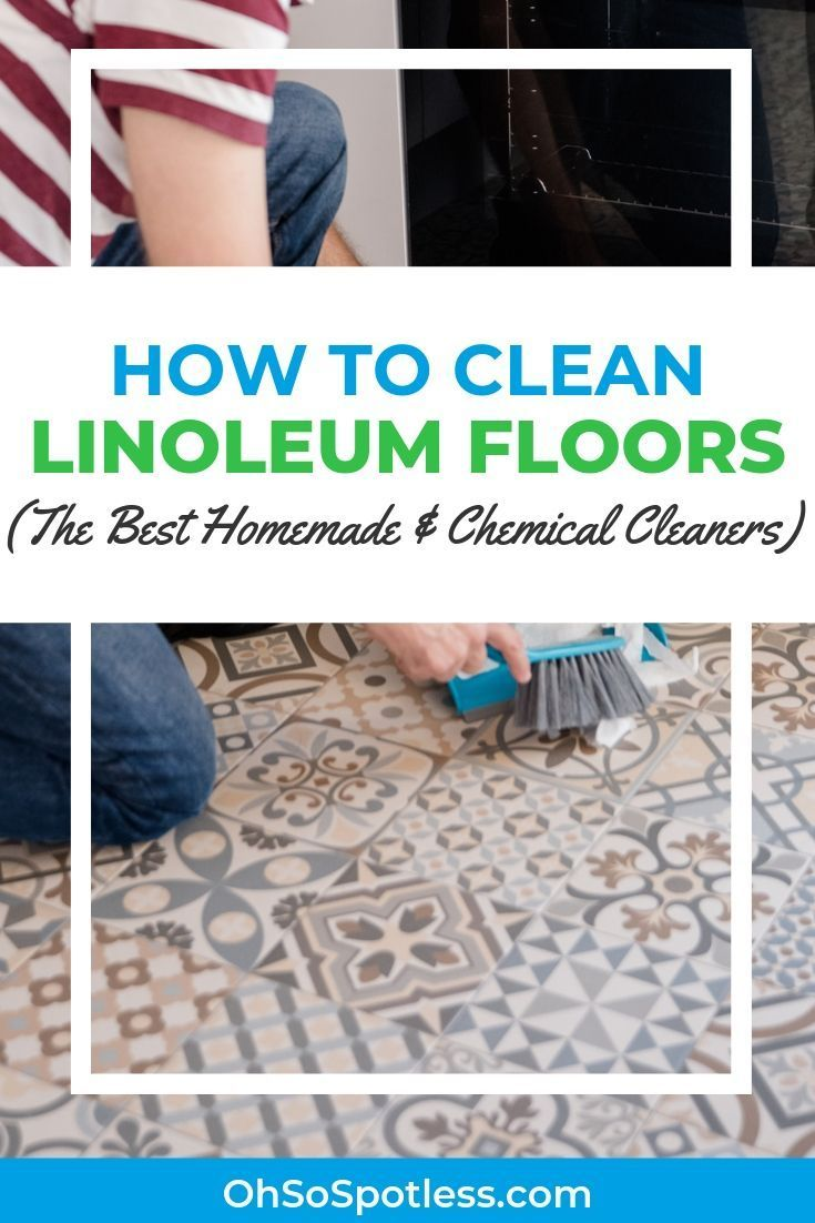 How to Clean Linoleum Floors (The Best Homemade and Chemical