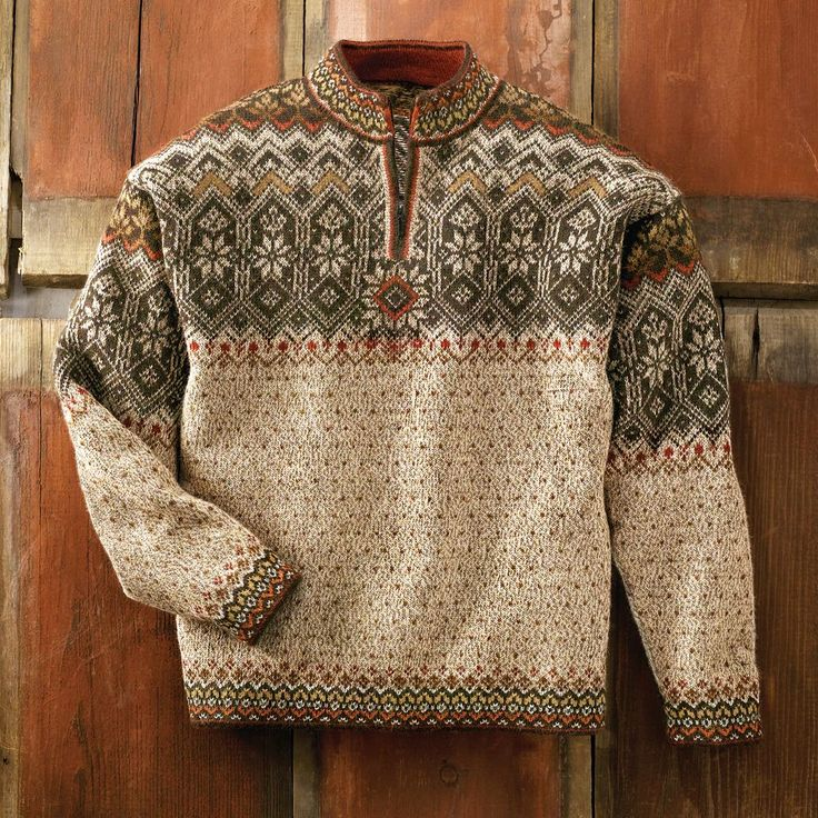 Men's Grecas Alpaca Sweater | National Geographic Store. No, wait, Melynda, I want this one, too!