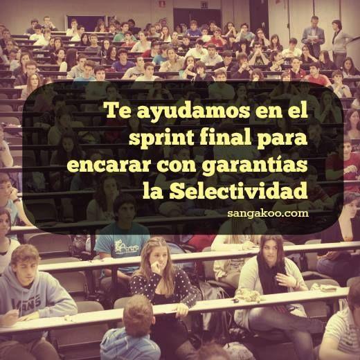 º╲˚\╭ᴖ_ᴖ╮/˚╱º ¡Cuenta regresiva! Sangakoo pone a tu alcance un #curso online especialmente diseñado para el examen de #Selectividad de #Matematicas. Estudia con la tipología de ejercicios que han formado parte de los exámenes #PAU de distintas Comunidades Autónomas #Espana España