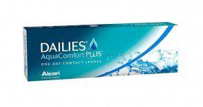 Soczewki kontaktowe DAILIES Aqua Comfort Plus 30 szt. - soczewki jednodniowe, sferyczne