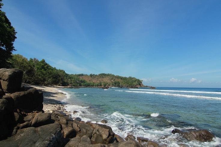 Wediombo Beach: One of our most favorite beach at Gunungkidul, Jogja ~ @LiburanJogja