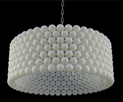 Ping Pong Ball Lamp