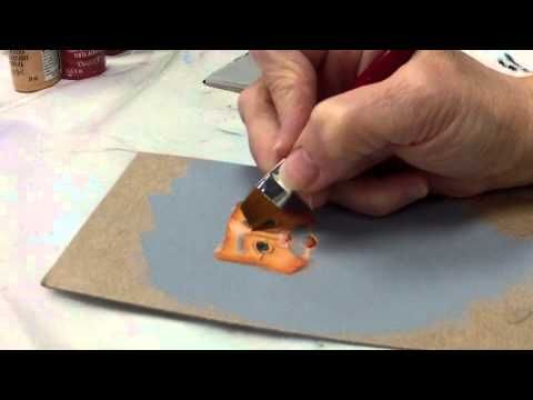 Painting A Santa Face by Michele Trout    This is an awesome painting video on how to paint a Santa face!