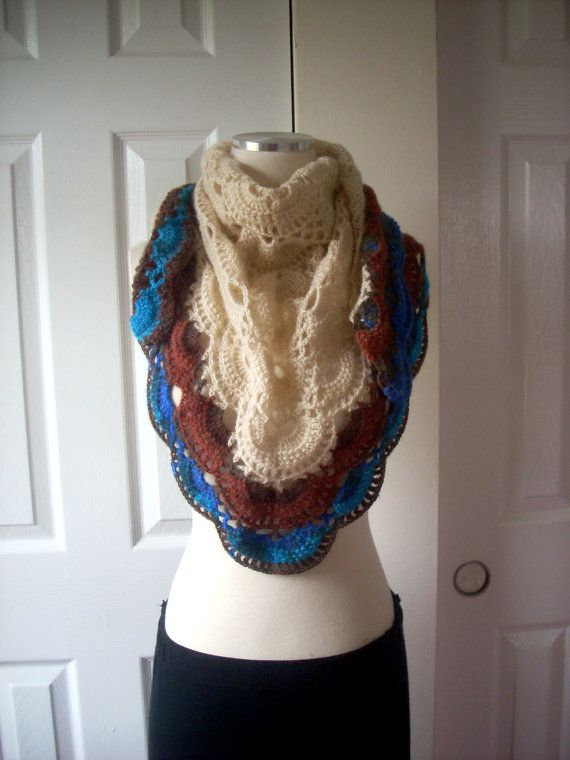 Free shipping mohair shawl hand made gift by TheAnatolianstyle