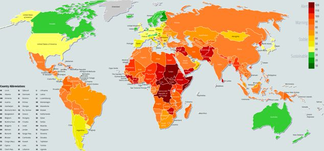 The Fragile States Index 2014 | The Fund for Peace