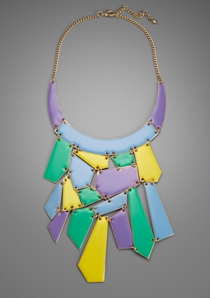 MEGHAN FABULOUS Patchwork Necklace