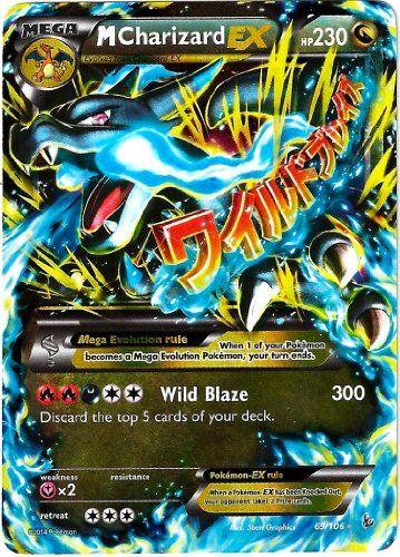 Pokemon M Charizard Ex Xy Flashfire 6... $39.99