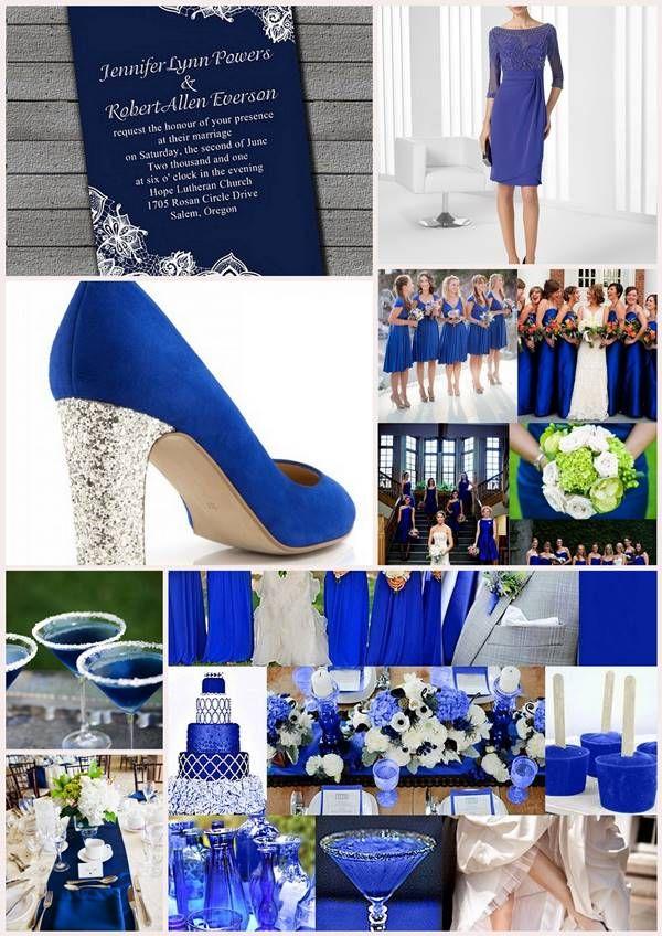 les 25 meilleures id es de la cat gorie mariages en bleu roi sur pinterest cravate bleue royal. Black Bedroom Furniture Sets. Home Design Ideas