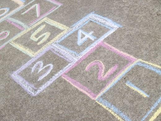 hop~scotch: Games, Remember, School, Childhood Memories, Things, Kids, Hop Scotch