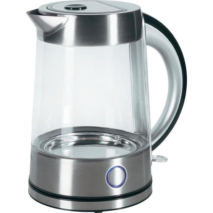 Köp Vattenkokare renkforce 1.7 l Glas, Rostfritt stål hos - Conrad.se Vattenkokare