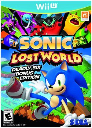 SEGA Sonic Lost World: Deadly 6 Bonus Edition for WII U. #games