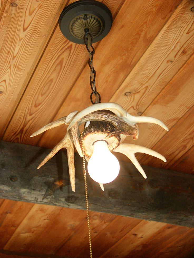 Elk and whitetail antler pendant light belt mountain rustic home furnishings 406 366 9449 beltmountainrhf