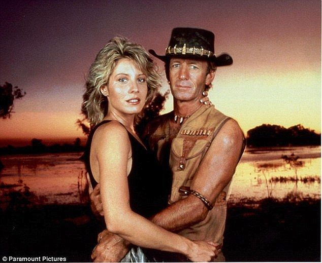 Love story:Linda and Paul met on the set of Crocodile Dundee in 1986 and were considered the Brad and Angelina of their day, with Paul leaving his then wife Noelen for the blonde beauty