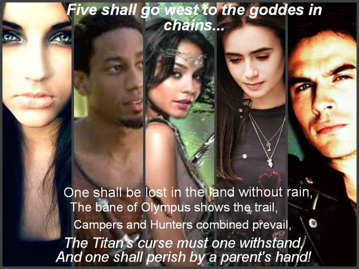 The Hunters of Artemis - The Titan's Curse.
