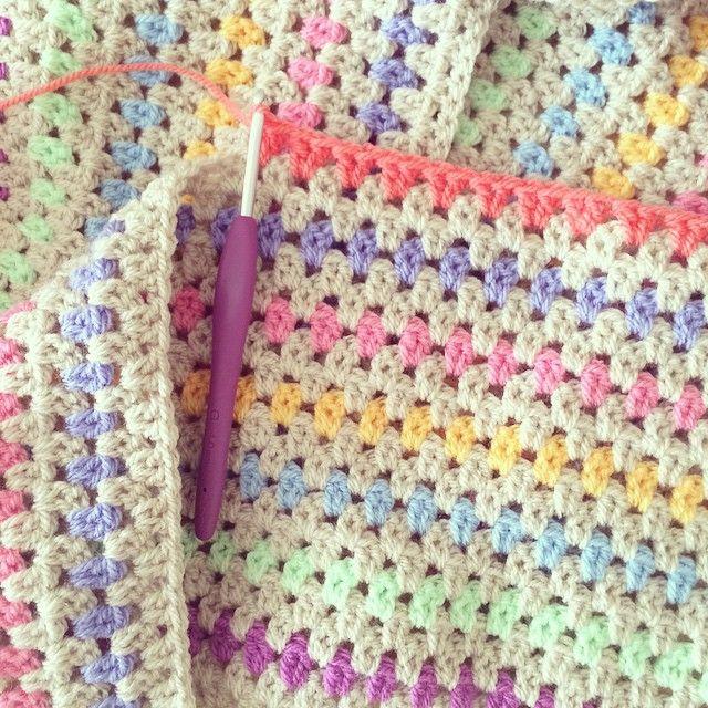 #Crochet Blanket by Michelle of forever__autumn__ on Instagram
