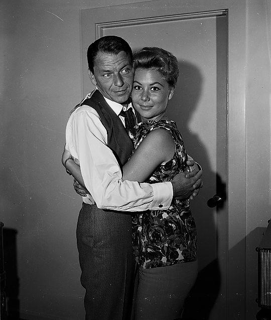 L for legends: Frank Sinatra & Mitzi Gaynor