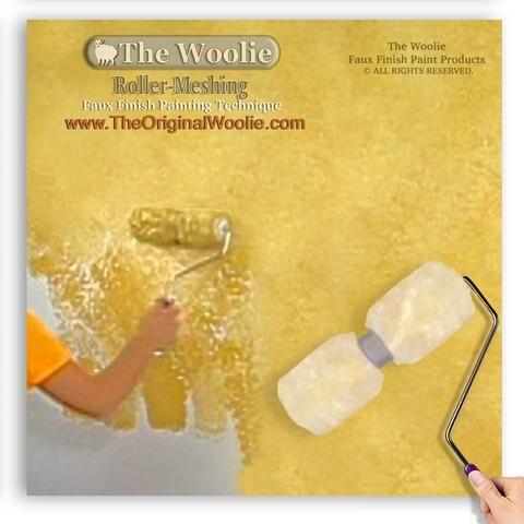 7 best The Woolie Original 2-Color Split Roller Faux Paint Technique ...