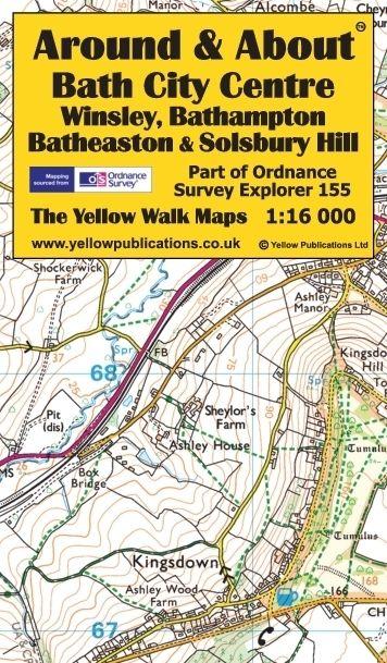 Bath City Centre, Winsley, Bathampton, Batheaston & Solsbury Hill - cover