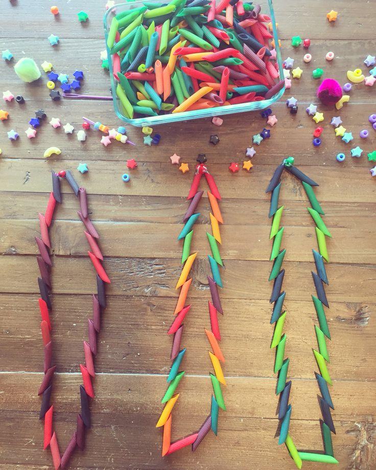 Macaroni Necklaces